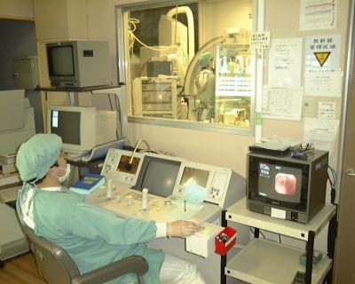 近畿中央胸部疾患センター仮想体験:気管支鏡検査